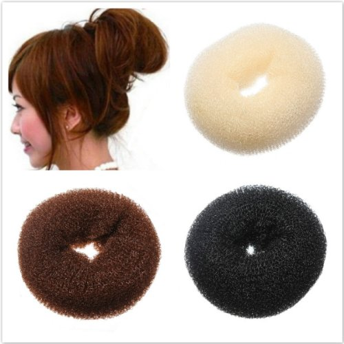 Fashion Bun Hair Former Doughnut Shaper Ring
