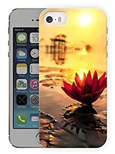 "Humor Gang Flower From Water Printed Designer Mobile Back Cover For ""Apple Iphone 5C"" (3D, Matte, Premium Quality Snap On Case)"
