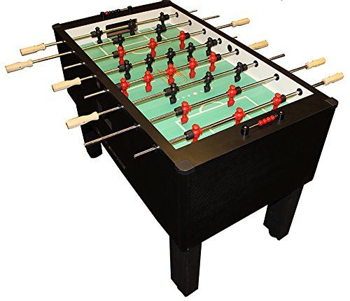 Gold-Standard-Home-Pro-Carbon-Fiber-Foosball-Chrome-Wood