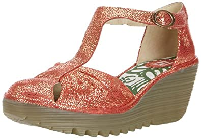 Fly London Women's Yelo Mary Jane Flats P500474012 Redy 5 UK, 38 EU