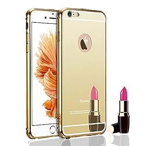CUBE Golden Mirror Back Cover For Samsung Galaxy E5