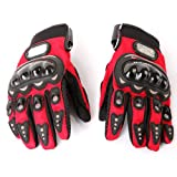Docooler®1 Pair Ergonomic Design Anti Slip 3D Hard Shell Protective Gear Motorcycle Sport Racing Bike Bicycle Riding Cycling Gloves