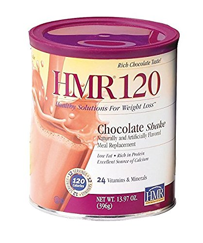 HMR 120 Weight-Loss Shake Mix, CHocolate, Canister of 12 servings (Hmr Shake Mix compare prices)