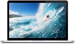 Apple ME664B/A 15-inch MacBook Pro with Retina Display (Launched Feb 2013) (Quad-Core i7 2.4GHz Processor, 8GB RAM, 256GB Flash, HD Graphics 4000, GeForce GT 650M 1GB, MAC OS X Mountain Lion)