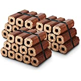 X36 Premium Eco Wooden Heat Logs Pack. Fuel for Firewood,Open Fires, Stoves and Log Burners - Comes With THE CHEMICAL HUT® Anti-Bacterial Pen!