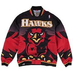 Atlanta Hawks Mitchell & Ness NBA Authentic 95-96 Warmup Premium Jacket by Mitchell & Ness