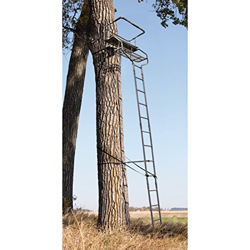 Best Buy! Sniper Deluxe 2-man Ladder Tree Stand 18'
