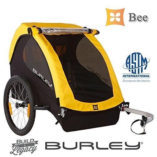 Burley Bee®2016新機能追加モデル:けん引専用・最軽量8.0Kg, 高剛性フレーム・防水ウェザーカバー。クラス最軽量。保育園送迎に、またパフォーマンスを気にするサイクリストに選ばれています。選ぶなら世界ブランドのBurley。