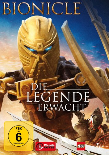 Bionicle: Die Legende erwacht, DVD