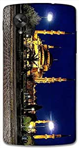 Timpax protective Armor Hard Bumper Back Case Cover. Multicolor printed on 3 Dimensional case with latest & finest graphic design art. Compatible with Google Nexus-5 Design No : TDZ-25574