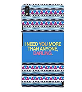 PrintDhaba Quote D-4667 Back Case Cover for HUAWEI ASCEND P6 (Multi-Coloured)