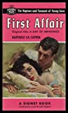 img - for FIRST AFFAIR - originally titled: A Day of Impatience book / textbook / text book