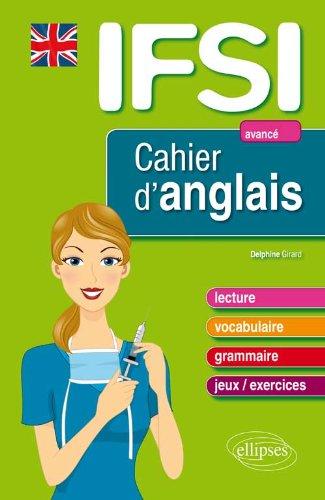 IFSI Cahier d'Anglais Niveau 3 Avancé