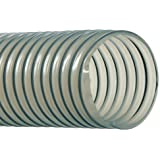 Hi-Tech Duravent Vac-U-Flex TPU Series Polyurethane Vacuum Hose, Clear