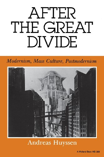 After the Great Divide: Modernism, Mass Culture, Postmodernism: Modernism, Mass Culture and Post-Modernism (Theories of Representation and Difference)