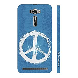 Enthopia Designer Hardshell Case Peaceful! Back Cover for Asus Zenfone 2 Laser ZE601KL