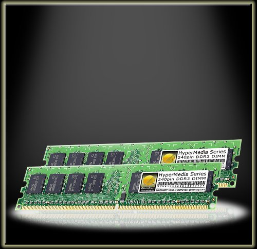 Quantum Technology HyperMedia Spec 1GB 512MBx2 DDR PC2700 333MHz RAM Celebration DIMM Kit for Sony VAIO PCV-RS400C (with Giga Pocket PVR)