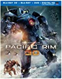 Image of Pacific Rim (Blu-ray 3D + Blu-ray + DVD + UltraViolet Combo Pack)