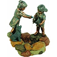 dib Global Sourcing WXF02096-S Children And Dog Fountain
