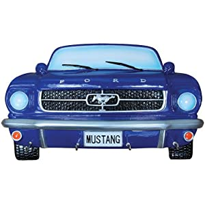 Amazon.com - 1969 Ford Mustang Front End Key Rack - Handpainted Car