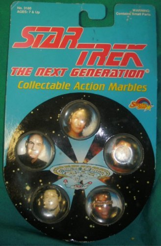 Star Trek The next generation Collectible Action marbles - 1