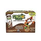 Sneakz Organic Chocolate Milkshake, 12 Count