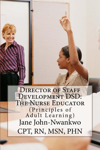 Director of Staff Development DSD: The Nurse Educator (Staff Development compare prices)