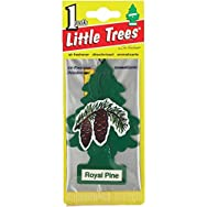 Car-Freshner U1P-10101 Little Trees Car Air Freshener-PINE AIR FRESHENER