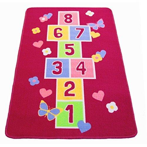 large-rectangular-butterfly-pink-fun-play-hopscotch-girls-mat-non-slip-childrens-carpet-rug-nursery-
