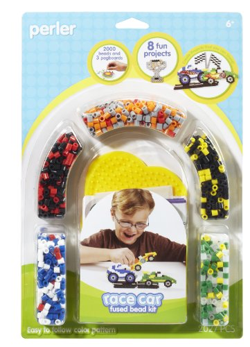 Perler Fused Bead Kit, Race Car