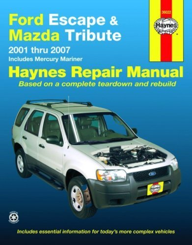 ford-escape-and-mazda-tribute-2001-2007-automotive-repair-manual-1st-first-by-haynes-2008-paperback