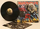 IRON MAIDEN IRON MAIDEN, the number of the beast. Top copy. First UK pressing. 1982. Matrix.A2, B3 GIVE IT SOME HEAD BUTTS. Record label: EMI
