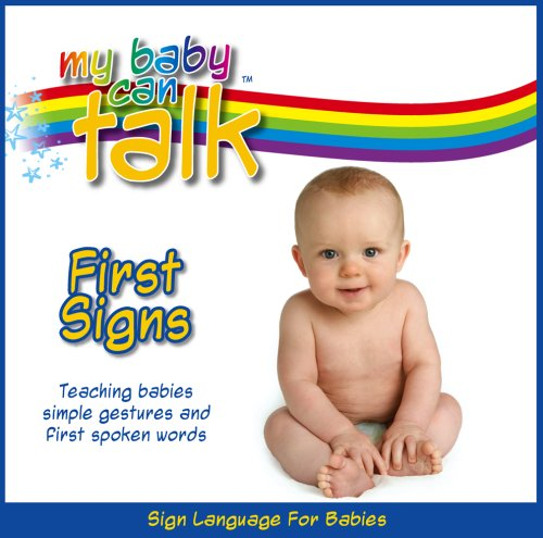 My Baby Can Talk - First Signs Board Book front-452832