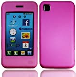 Hot Pink LG Pop GD510 Soft Silicone Rubber Gel Skins Mobile Phone Case Cover