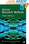 Survey Research Methods (Applied Soci...
