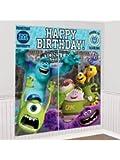 Monsters University Giant Scene Setter Wall Decorating Kit Birthday Party Decor