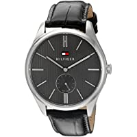 Tommy Hilfiger Men's Analog Display Black Watch