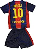 2014/2015 Lionel Messi 10 Home Barcelona Fc Football Soccer Kids Jersey & Short (8-9 YEARS)