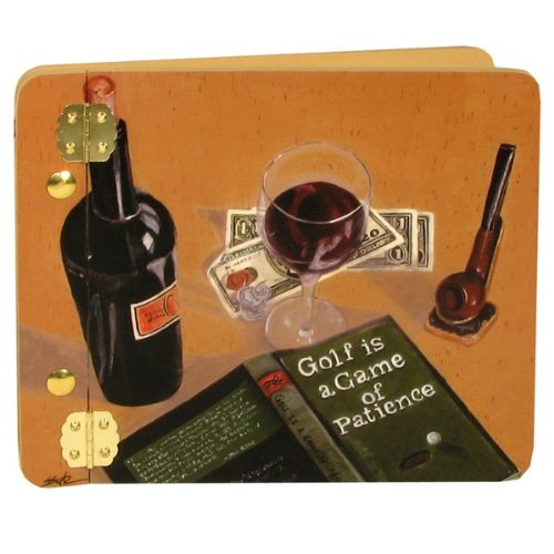 Good Book Good Wine Mini Photo Album Customize: Yes