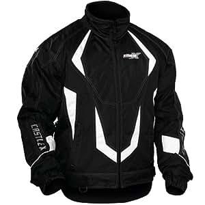 2013 Castle Platform Snowmobile Jackets - Black - Medium