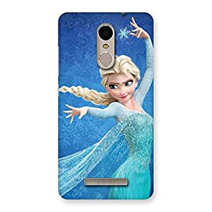 Ajay Enterprises Princess Angel Back Case Cover for Xiaomi Redmi Note 3