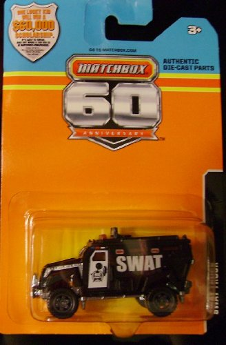 2013 Matchbox 60th Anniversary(Limited Edition) Swat Truck