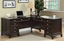 Hot Sale L-Shaped Desk - Garson Collection By Coaster Furniture
