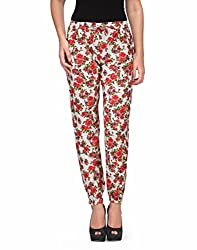 Kiosha Cotton Multi Regular Fit Trousers for Women KTVDA474_MULTI