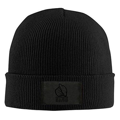 Warmth Stud Muffin Suit For All Outdoor Activities Unisex Extension-type Flat & Rib Knit Skull Cap