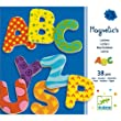 Magnetic's Lettres 38 pi�ces Djeco