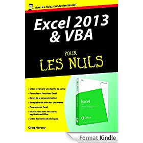 Excel 2013 et VBA M�gapoche Pour les Nuls