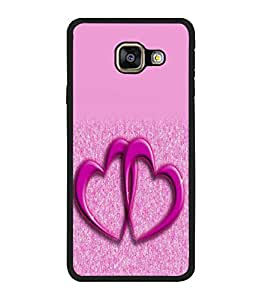 printtech Heart Couple Back Case Cover for Samsung Galaxy A5 (2016) :: Samsung Galaxy A5 (2016) Duos with dual-SIM card slots