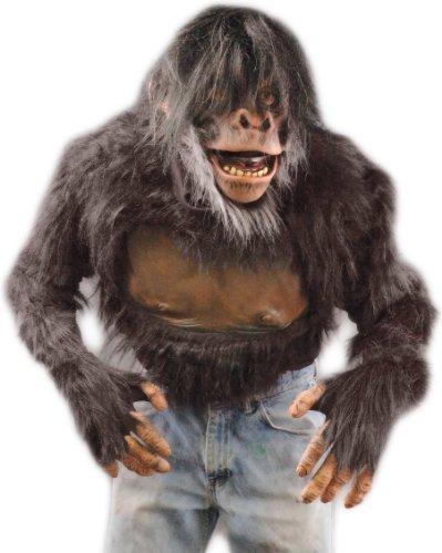 Adult Chimp Shirt大人のチンパンジーシャツ♪ハロウィン♪サイズ:One-Size