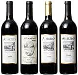 Albertina Wine Cellars Mendocino Cabernet Sauvignon Mixed Pack, 4 x 750 mL